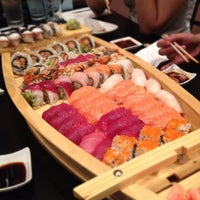 Photo taken at Sushi Para M by Mike F. on 8/25/2012