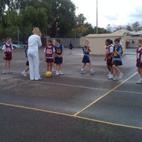 Photo taken at Windsor Gardens Netball Courts by Teddles on 5/26/2012