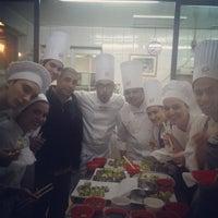Photo taken at Ecole - Escuela Culinaria Francesa by Sebastian P. on 8/31/2012