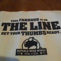 Photo taken at Buffalo Wild Wings by Dominic A. on 4/28/2012