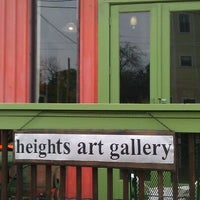 Photo taken at Heights Art Gallery by Gretchen L. on 3/10/2012