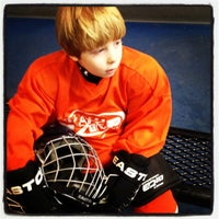 Photo taken at Virtua Center Flyers Skate Zone by Tara M. on 2/25/2012