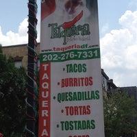 Photo taken at Taqueria Distrito Federal by EnriKe K. on 7/16/2012