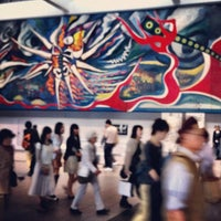 Photo taken at Inokashira Line Shibuya Station (IN01) by Yuu A. on 5/20/2012