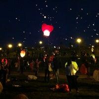 Снимок сделан в Братеевский каскадный парк пользователем Katrin 8/18/2012