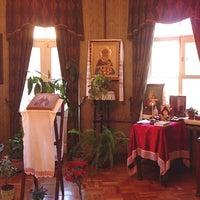 Снимок сделан в Мемориальный музей-квартира Святого Праведного Иоанна Кронштадтского пользователем Yulia B. 5/8/2012