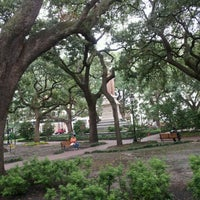 Photo taken at Wright Square by Ryan R. on 8/23/2012
