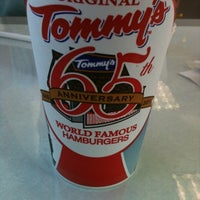 Photo taken at Original Tommy's Hamburgers by Christina V. on 8/3/2012