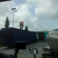 Photo taken at Blue Beacon Truck Wash by Robby P. on 7/19/2012