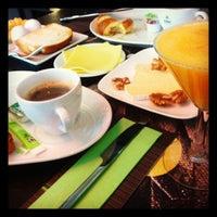 Photo taken at Café de Loge by Elise D. on 9/11/2012