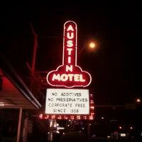 Photo taken at Austin Motel by dane k. on 3/3/2012