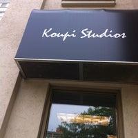 Photo taken at Koupi Studios by Joanne O. on 7/7/2012
