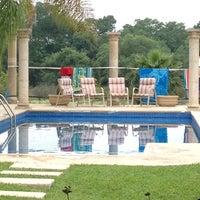 Photo taken at Ojo de Agua by Javier R. on 4/6/2012