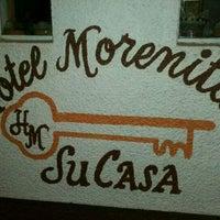 Photo taken at Hotel La Morenita by Bere A. on 3/11/2012