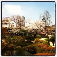 Photo taken at Mohri Garden by Hidehiko A. on 4/5/2012
