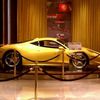 Photo taken at Ferrari Maserati Showroom and Dealership by Terry L. on 3/23/2012