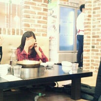 Photo taken at 채선당 by 윗니 박. on 2/18/2012