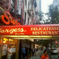 Photo taken at Sarge's Delicatessen & Diner by Max S. on 6/10/2012