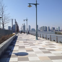 Photo taken at Pier 25 - Hudson River Park by Vic L. on 3/19/2012