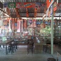 Photo taken at ร้านอาหารข้างโรงหนัง by JeAb N. on 5/17/2012
