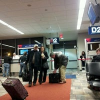 Photo taken at Gate D2 by Rob B. on 3/11/2012