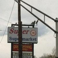 Photo taken at Super Supermarket by Alberto S. on 4/10/2012