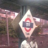 Photo taken at Thane Railway Station by Ashutosh D. on 6/22/2012
