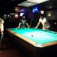 Photo taken at Society Billiards + Bar by Priyanka M. on 8/14/2012