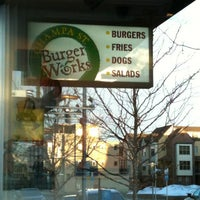 Photo taken at Champa St. Burger Works by Matt A. on 3/3/2012