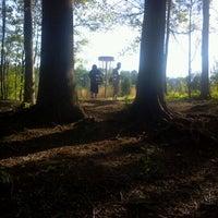 Photo taken at Bradford Park Disc Golf Course by Ashton H. on 4/13/2012