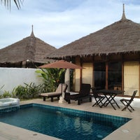 Photo taken at Dhevan Dara Resort & Spa by Bank Napong N. on 3/3/2012