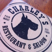 Photo taken at Charley's Restaurant & Saloon by Dan H. on 2/14/2012