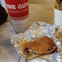 Photo taken at Five Guys by Summer T. on 8/25/2012