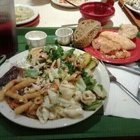 Photo taken at Sweet Tomatoes by Linda T. on 7/6/2012
