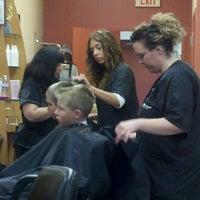 Photo taken at Fantastic Sams Hair Salons by Lisa J. on 8/4/2012