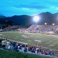 Photo taken at Bob Waters Field at E.J. Whitmire Stadium by Adam H. on 8/31/2012