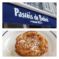 Photo taken at Fábrica dos Pastéis de Belém by André F. on 6/3/2012