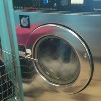 Photo taken at Bubbleland Laundromat by Jessica Ma. on 7/29/2012