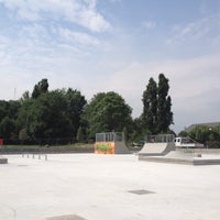 Photo taken at Skatepark Lampugnano by danxzen on 6/6/2012