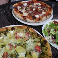Photo taken at Mia's Pizzas by SoyeonKimberly K. on 5/24/2012