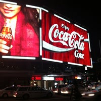 Photo taken at The Coca-Cola Billboard by Arm'strong B. on 4/4/2012