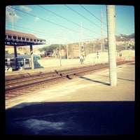 Photo taken at Stazione La Spezia Migliarina by monica G. on 2/14/2012