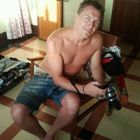 Photo taken at Sea Green Hotel by Evgenia K. on 3/7/2012