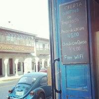 Photo taken at El sabor de casa by Luis Mauricio W. on 5/9/2012