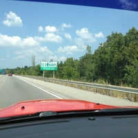 Photo taken at I-57/I-24 Split by James W. on 7/22/2012