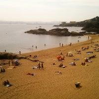Photo taken at Praia de Espiñeiro by Jesus P. on 9/6/2012