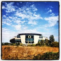 Photo taken at Autzen Stadium by Kate M. on 9/8/2012