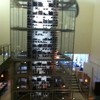 Photo taken at Aureole by Megan F. on 5/29/2012
