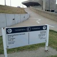 Photo taken at Terminal C by Jason C. on 7/17/2012