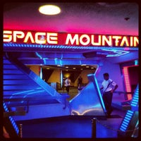 Photo prise au Space Mountain par Marz T. le9/10/2012